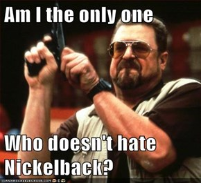 Am I the only one  Who doesn't hate Nickelback?