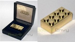 14 Karat Gold Lego