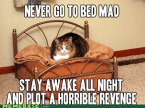 Never Go To Bed Mad