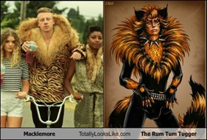 Macklemore Totally Looks Like The Rum Tum Tugger