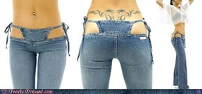 Built-In-Thong Jeans