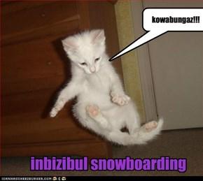 inbizibul snowboarding
