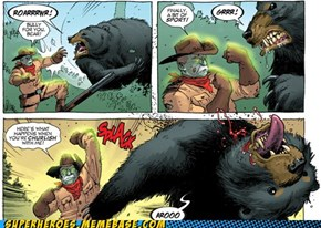 Zombie Teddy vs. Bear