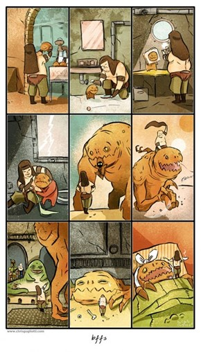 The True Story of the Rancor