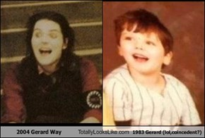 2004 Gerard Way Totally Looks Like 1983 Gerard (lol,coincedent?)