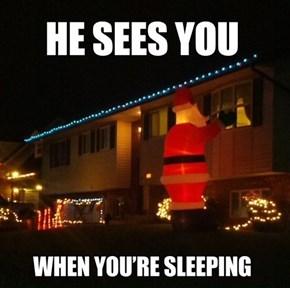 Creepy Claus FAIL
