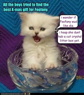 i wonder if Foofany wud like dis.