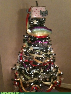 Nyan Christmas Tree