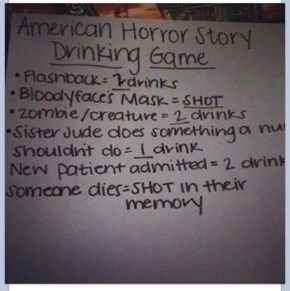 The American Horror Story Drinking Extravaganza