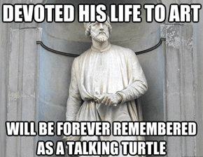 Bad Luck Donatello