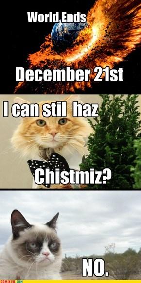 World Ends December 21st