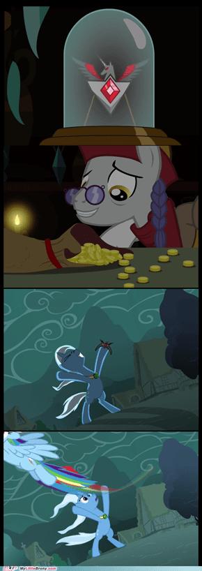 The Broke And Regretful Trixie