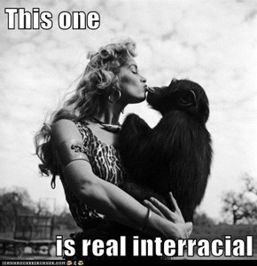 This one  is real interracial