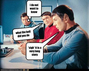 what did you do spock