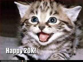 Happy 20K!