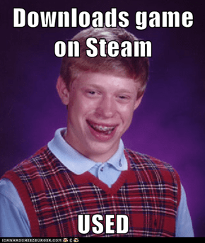 Downloads game on Steam  USED