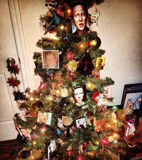 Walken Around the Christmas Tree