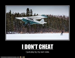 I DON'T CHEAT