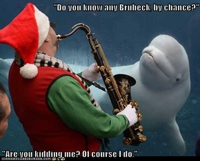 """Do you know any Brubeck, by chance?""  ""Are you kidding me? Of course I do."""