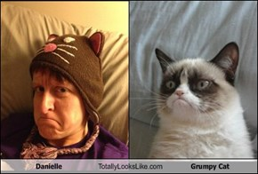 Danielle Totally Looks Like Grumpy Cat