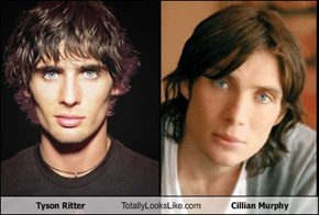 Tyson Ritter Totally Looks Like Cillian Murphy