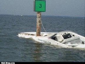Boat Parking FAIL