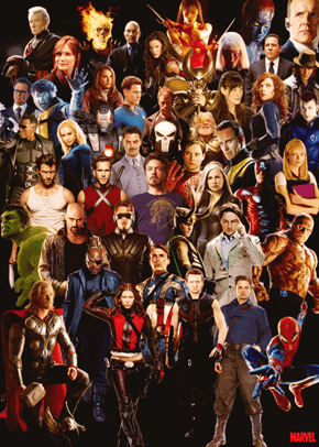 Hollywood's Marvel Universe