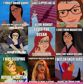 Hipster Disney Princesses