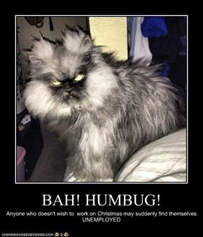 BAH! HUMBUG!