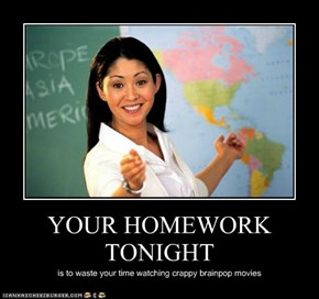 YOUR HOMEWORK TONIGHT