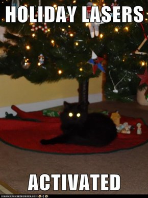 HOLIDAY LASERS  ACTIVATED