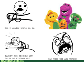 Cereal Guy is not for Barney