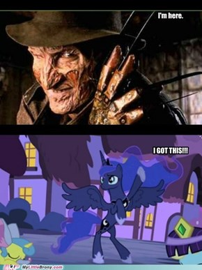 a nightmare in Ponyville