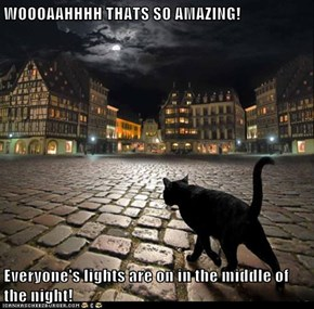 WOOOAAHHHH THATS SO AMAZING!  Everyone's lights are on in the middle of the night!