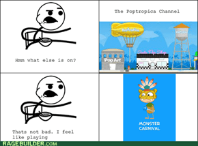 Cereal Guy likes Poptropica