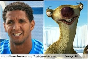 Issam Jemaa  Totally Looks Like Ice age  Sid