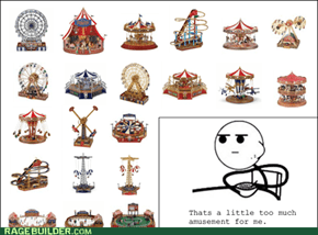Cereal Guy is bored of amusement parks
