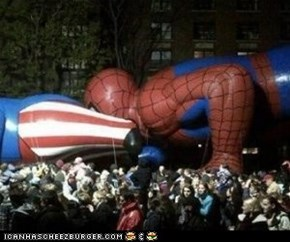 Parade Balloon FAIL