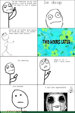 I broke physics