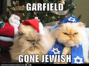 GARFIELD  GONE JEWISH