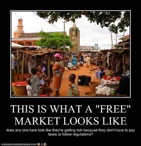 """THIS IS WHAT A """"FREE"""" MARKET LOOKS LIKE"""