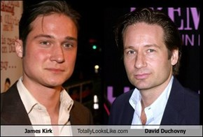 James Kirk Totally Looks Like David Duchovny