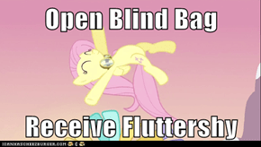 Open Blind Bag  Receive Fluttershy