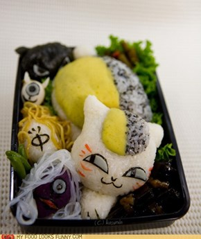 Anime Kitty Bento