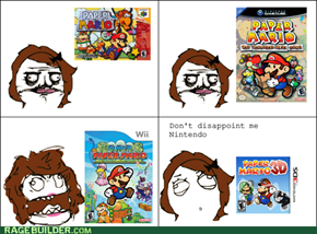 How I feel about Paper Mario