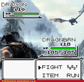 Pokemon: Skyrim Edition