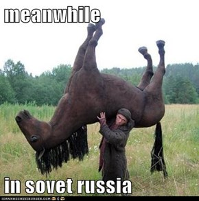 meanwhile   in sovet russia
