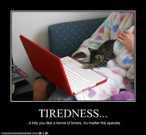 TIREDNESS...