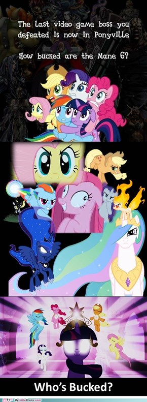 Let's not kid ourselves, the Mane 6 kick some serious flank!