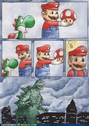 Mario! What Have You Done?